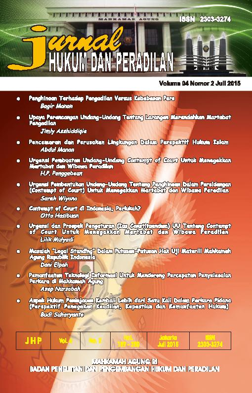 Jurnal Volume 4 No.2 Juli 2015