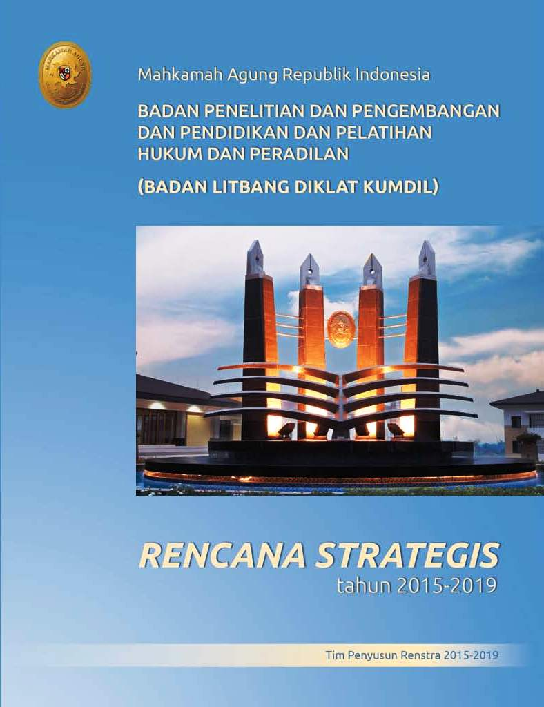 Rencana Strategis 2015-2019