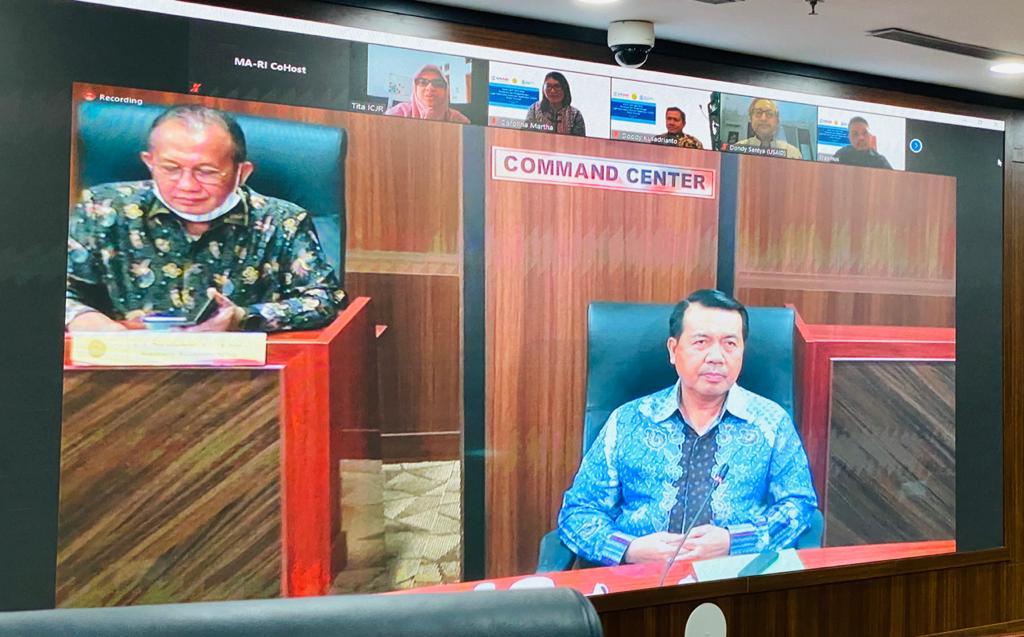إفتتح رئيس المحكمة العليا الإجتماع الإفتتاحي لتطوير تطبيق مصدر المعلومات القضائي
