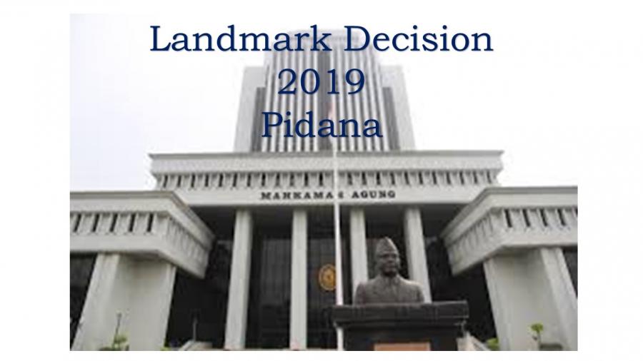Landmark Decision 2019